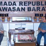 Pangarmabar Terima Kunjungan Duta Besar Indonesia Untuk India