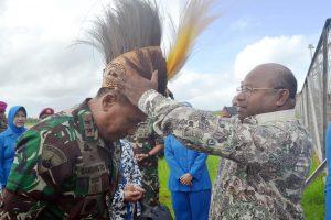 Dankormar kunjungi Papua.