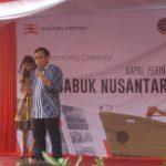 Ditjen Hubla Luncurkan Kapal Perintis 1200 GT di Semarang