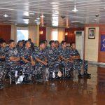 Perkuat Pemahaman Prosedur Kamla, KRI Tanjung Nusanive 973 Gelar Penyuluhan Hukum