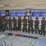 Latihan Puncak TNI AL Armada Jaya XXXV/2017, ST. Hanlan AJ XXXV Gelar Tactical Floor Game