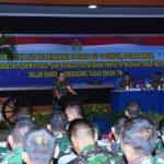 Pangarmabar Paparkan Keputusan dan KUO Kepada Pangkogab TNI
