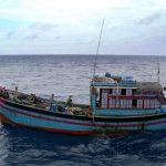 KRI Sutanto 377 Tangkap Kapal Ikan Vietnam