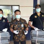 Patroli Laut BC Batam Tegah 4.280 Burung Kacer asal Malaysia