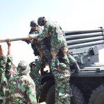 Korps Marinir TNI AL Gelar Latihan Tembak Tempur Laut