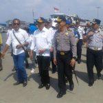 Menhub Sidak ke Pelabuhan Kali Adem, Disambut Kapolres Pelabuhan Tanjung Priok