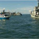 Operasi Patroli Bakamla RI selamatkan kapal Terbakar di Perairan Tanjung Ahus