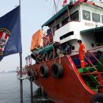 Operasi Nusantara Bakamla RI amankan sebuah Kapal Tanker
