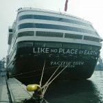Kapal Pesiar P & O Cruises Singgah di Terminal Penumpang Nusantara Pelabuhan Tanjung Priok