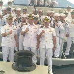 Serah Terima Komandan KRI Pulau Rengat – 711