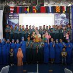 Perkuat Ikatan Kekeluargaan, Komandan KRI Banda Aceh 593 Temu Muka dengan Jalasenastri