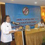 Tingkatkan Sinergitas Penegakan Hukum, Zona Maritim Timur Gelar Rakernis