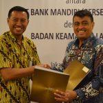 Bakamla RI dan Bank Mandiri Garap Dua Kerja Sama