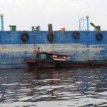 Koarmabar Amankan Dua Kapal Pengangkut CPO