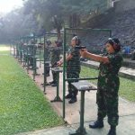 Bina Kemampuan Dasar Prajurit, Kolinlamil Gelar Latihan Menembak