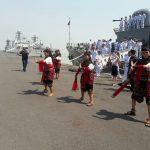 Kapal Perang Thailand Kunjungi Surabaya