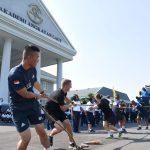 Sambut Hari Kemerdekaan Bangsa Indonesia, Cadet US Army Beradu Tangkas dengan Taruna AAL