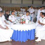 Koarmatim Jamu Personel Sea Garuda 19AB-17 AL Makan Malam