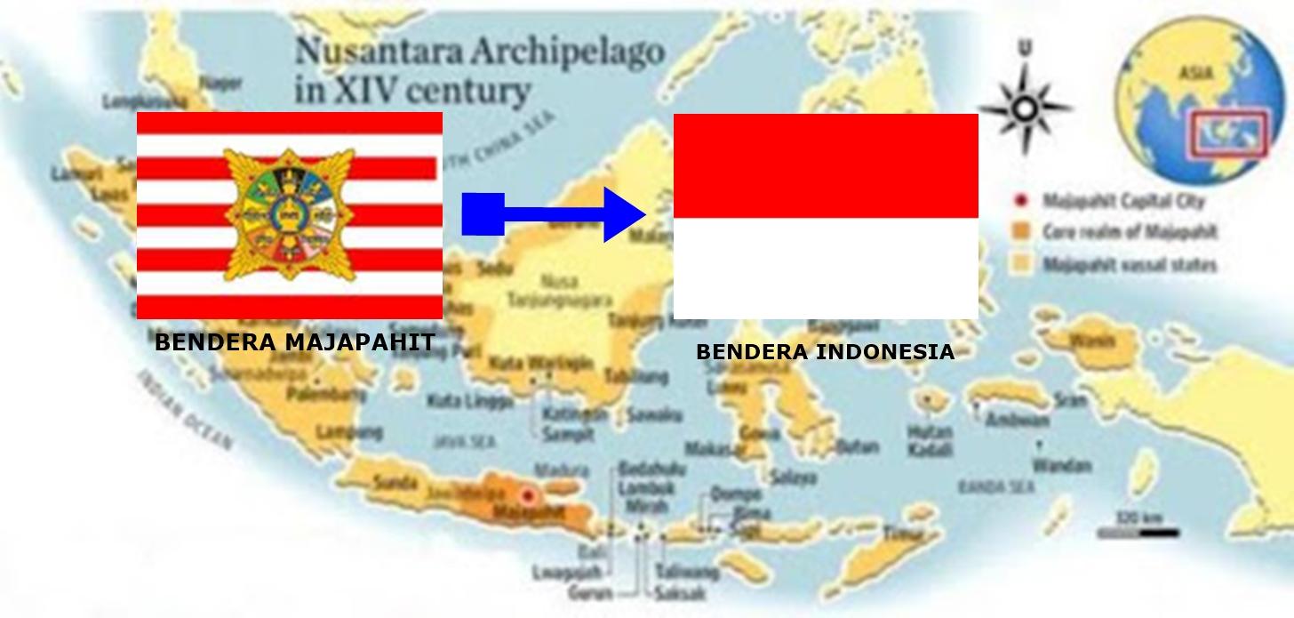 Walaupun Jadi Negara Persemakmuran Bendera Malaysia Tetap Terinspirasi Oleh Majapahit Maritimnews Com
