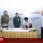 BKI 'Gandeng' Bank Mandiri Kembangkan Layanan 'At Work' untuk Pegawai