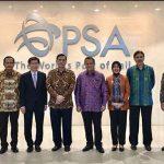 Menko Kemaritiman dan Dirjen Hubla Kunjungi PSA Singapura