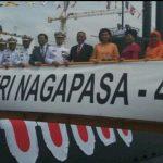 Menhan resmikan Kapal Selam KRI Nagapasa-403 di Busan