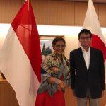 Bertemu Menlu Jepang, KKP Perkuat Kerja Sama Kemaritiman