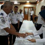 Bebas Narkoba, Seluruh Pegawai hingga Pejabat Ditjen Hubla ikut Tes Urine