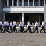 Calon Taruna AAL Kunjungi Marinir