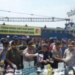 Bakamla RI Komitmen Basmi Penyelundupan Narkoba melalui Laut