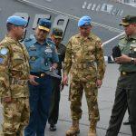 Tinjau Kesiapan Personel, Waasops Panglima TNI Inspseksi Satgas MTF Konga XXVIII-J UNIFIL 2017