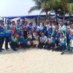 Tim Dayung Kolinlamil Raih Juara Dua Lomba Dayung Panglima TNI Cup 2017
