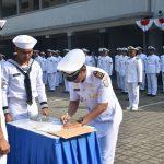 Kapal Angkatan Laut Katon 1-5-34 yang Baru Siap Amankan APBS APTS