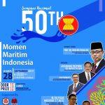 Sambut 50 Tahun ASEAN, UIN Syarif Hidayatullah gelar Seminar Maritim