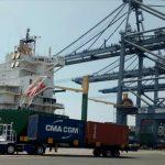 Ternyata CMA-CGM tetap Sandar di Dermaga Utara JICT Pelabuhan Tanjung Priok