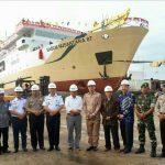 Kapal Sabuk Nusantara 87 Diluncurkan Perdana di Galangan Mariana Bahagia