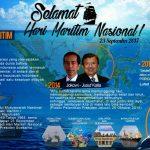 Peringatan Hari Maritim Nasional, Jadikan Indonesia Mercusuar Dunia