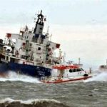 Ditjen Hubla Kerahkan KN SAROTAMA P-112 untuk Cari Korban Tubrukan Kapal di Selat Singapura
