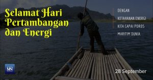 Selamat Hari Pertambangan dan Energi,