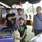 Sambut HUT ke-72 TNI,  Lanal Semarang Meriahkan Pameran Alutsista Kota Semarang