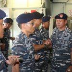 28 Perwira Satgas Demo Tempur Laut Naik Pangkat
