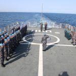 Satgas MTF TNI Konga XXVIII–J UNIFIL Upacara Hari Kesaktian Pancasila