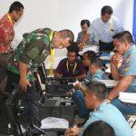 Peserta Palatihan Latihan Operator IMAGE, Praktek Operasional