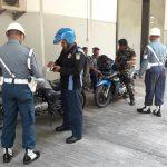 Dukung Ketertiban Peringatan 72 Tahun TNI, POM Koarmatim Gelar Operasi Gaktib