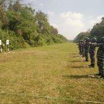 Jaga Kemampuan Dasar, Lanal Malang Beri Prajurit Latihan Menembak