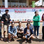 Menuju World Clean Up Day 2018, Perhimatekmi laksanakan Deklarasi Kebersihan di Pesisir Semarang