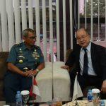 Delegasi Jepang Sambangi Pushidrosal, Bahas Mendalam Survei Bersama Selat Singapura dan Malaka