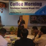 Coffee Morning, Cara Perkenalan GM Baru Pelabuhan Tanjung Wangi