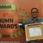 Pelindo I Raih Golden Trophy 8th Infobank BUMN Awards 2017