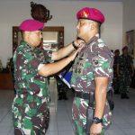 Mayor Marinir Indra Fauzy Umar Jabat Wadan Yonmarhanlan III Jakarta yang Baru